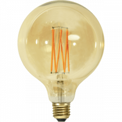 LED-lampa E27 3,7W Vintage Gold